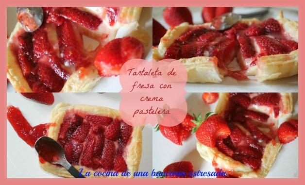 Tartaletas de fresas con crema pastelera