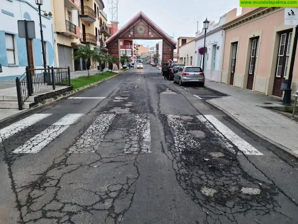 El alcalde de Breña Alta propondrá al pleno el asfaltado de la Calle 30 de Mayo ante la inacción del Cabildo durante más de seis años