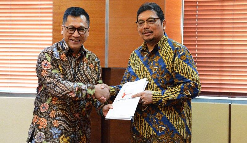 Kemenkeu Terima Polis Asuransi BMN Pertama di Indonesia