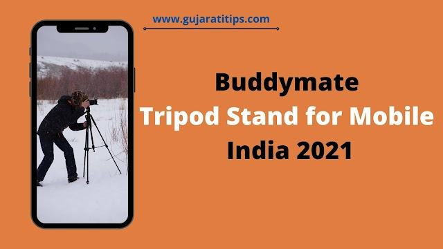 Buy Buddymate Best Tripod Stand for Mobile India 2021