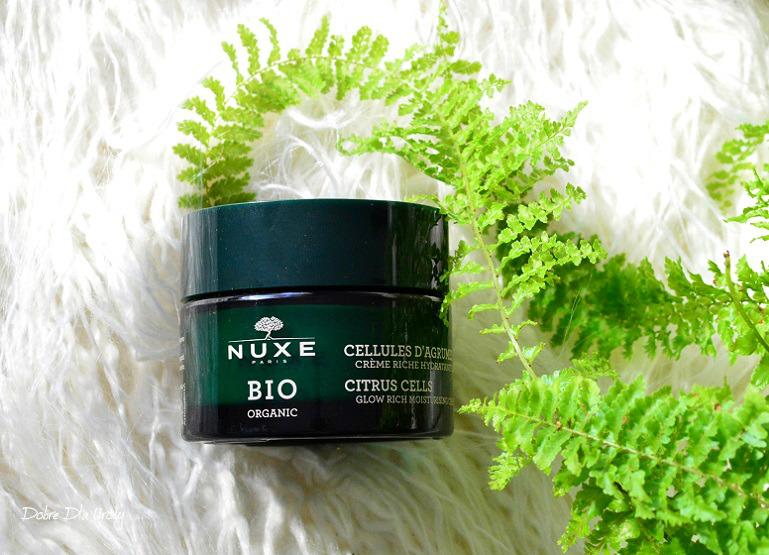 Nuxe Bio Rozświetlający krem nawilżający Ekstrakt z Cytrusów