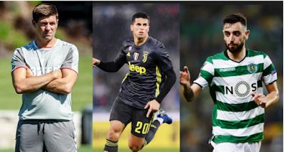 Tetesi za soka Ulaya Leo Alhamisi: Gerrard, Maguire,  Cancelo, Vieira, Arteta, Fernandes, Pogba