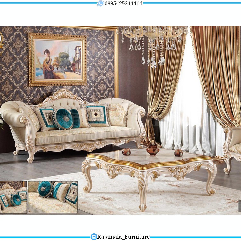 New Sofa Ruang Tamu Mewah Ukiran Jepara Luxury Furniture Indonesia RM-0140