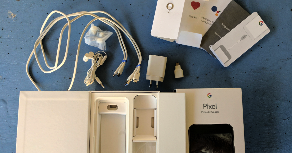 [Video] First Google Pixel Unboxing