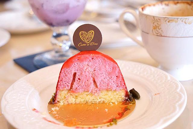 DSC02020 - 熱血採訪│隱藏在台中七期的藍帶甜點,金心盈福Cuore D'oro法義甜點