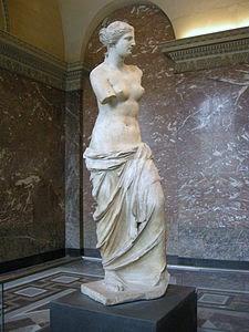Mother Goddess Sculpture of Aphrodite in Greek Mythology, also known as Venus in Roman Mythology.