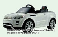 Mobil Mainan aki Junior 81400 Range Rover Evoque Triple XL Lisensi