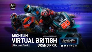 Carrera Virtual de MotoGP Silverstone 31 mayo 2020