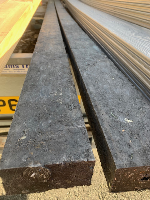 Carbon negative plastic joists