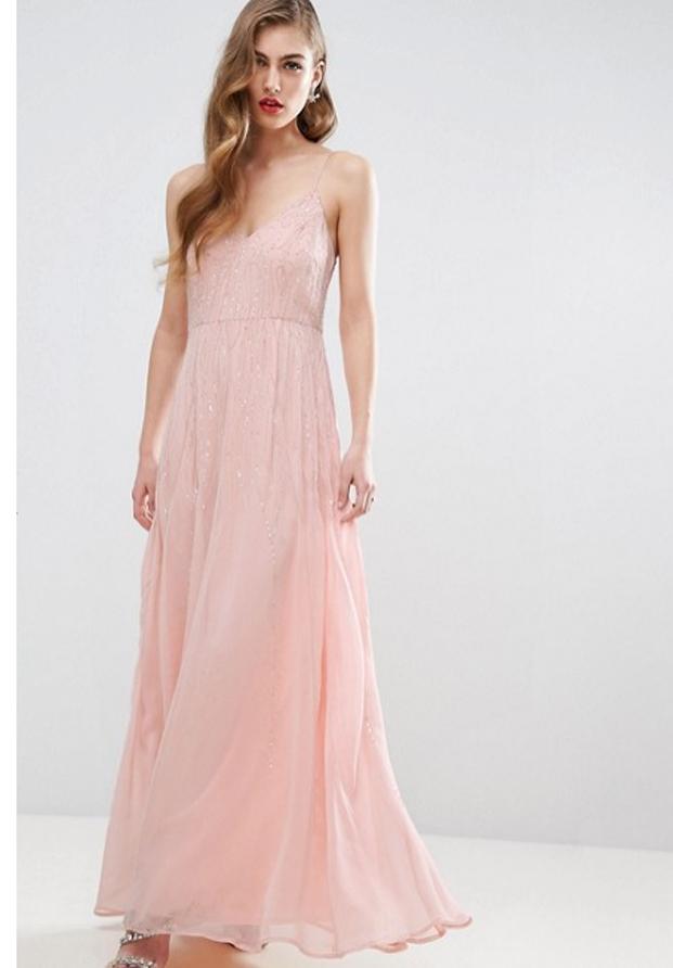Vestido rosa de Asos