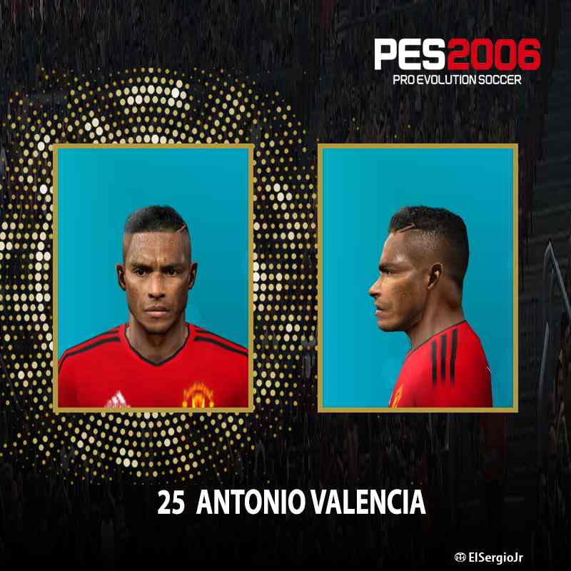Ultigamerz Pes 2010 Pes 2011 Face: Ultigamerz: PES 6 Antonio Valencia (Manchester United