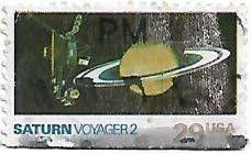 Selo Saturno Voyager II