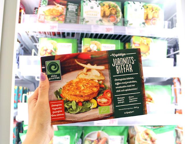Svenskehandel Stromstad Mat Veganmat Jordnøttsbiffer Harryhandel Guide Til Veganmat På Grensa Veganmisjonen