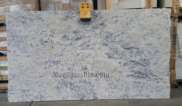 Ice White Granite slabs for countertop
