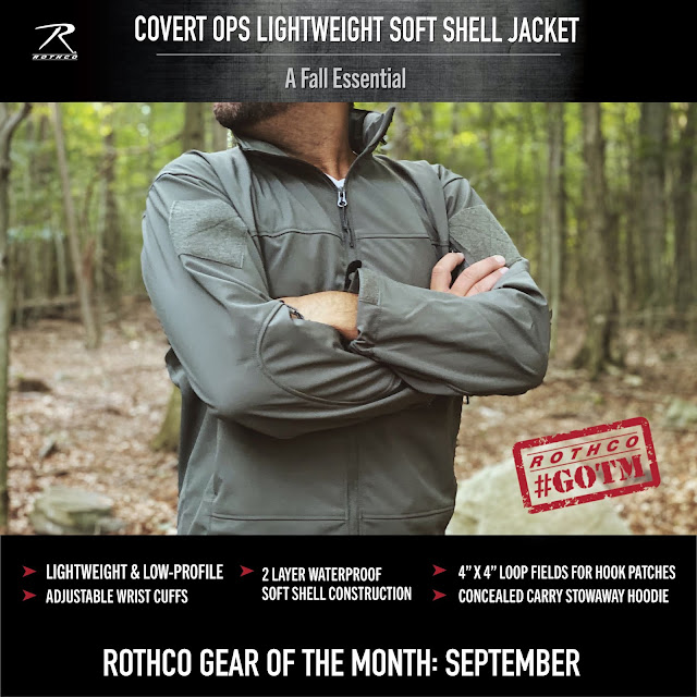 Lightweight & Versatile...October s Gear of the Month