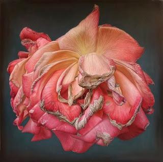 flores-rosas en-cuadros-hiperrealistas