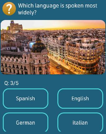 Which language is spoken most widely?