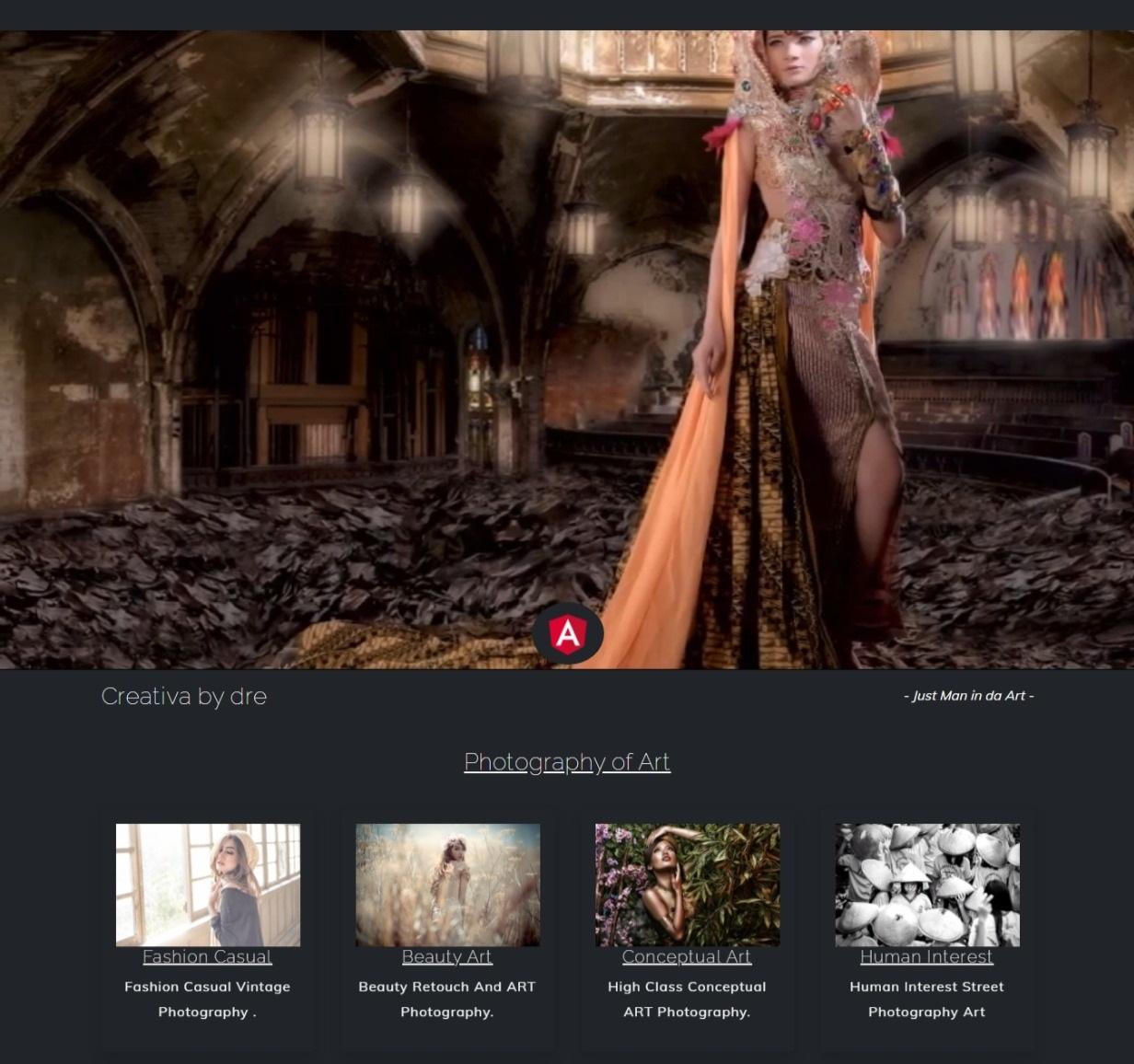 New Photographer photography Portfolio website template themes free download gratis