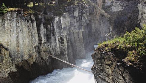 Sunwapta Falls Jasper Alberta