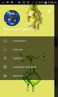 BBM Ketupat V2.13.1.14 Apk Edisi Lebaran - BBM MOD Idul Fitri Terbaru