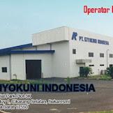 Lowongan Operator Produksi PT. KIYOKINI INDONESIA Kawasan EJIP Cikarang 2020