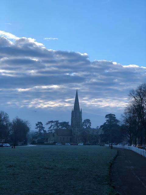 Chez Maximka, churches of Oxfordshire