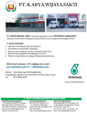 Rekrutmen Lowongan Kerja PT Wijaya Sakti SMA Sederajat Surabaya November 2019