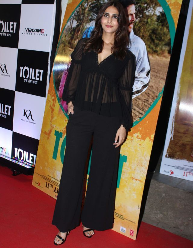 Vaani Kapoor At Toilet Ek Prem Katha Film Special Screening