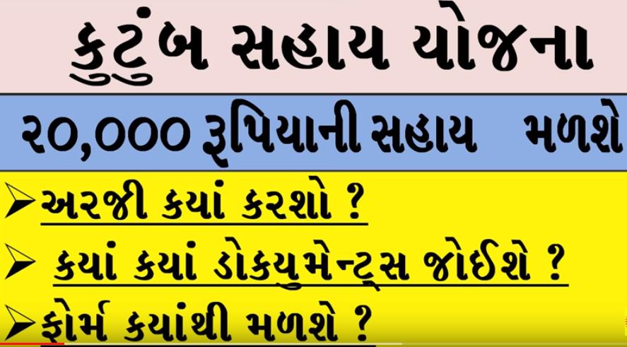 Sankatmochan (Rashtriya Kutumb Sahay) scheme