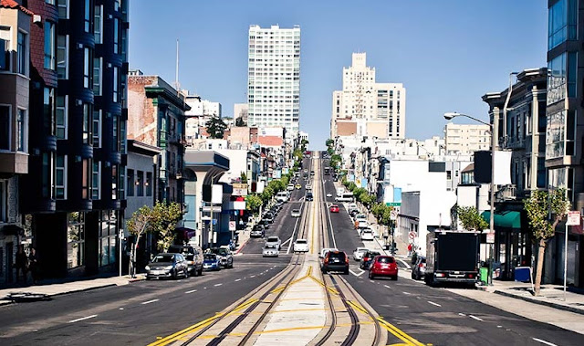 Serviços de aluguel de carro para uma viagem de San Francisco à Santa Mônica