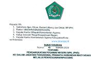 SE Pengangkatan PNS Dalam Jabatan Fungsional melalui Penyesuaian Inpassing