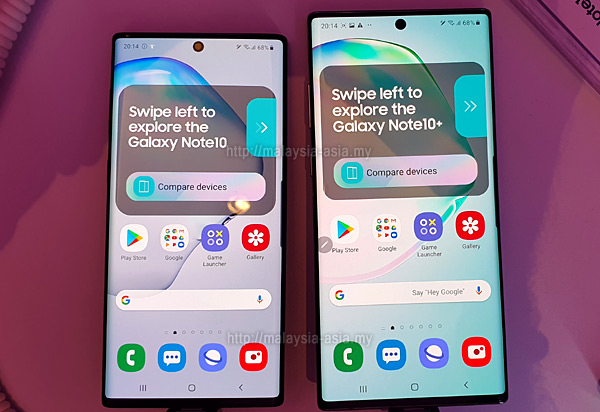 Malaysia Galaxy Note 10 and 10 Plus