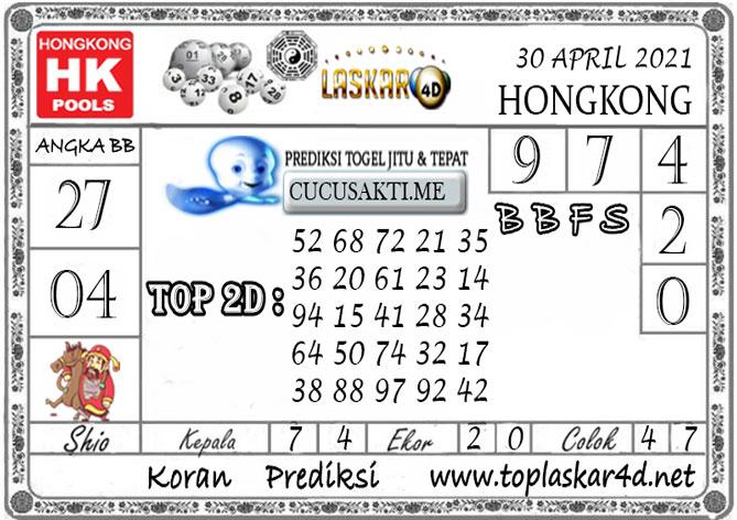 Prediksi Togel HONGKONG LASKAR4D 30 APRIL 2021