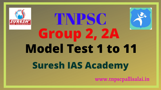 Tnpsc group 2, 2a model test conducted by suresh ias academy