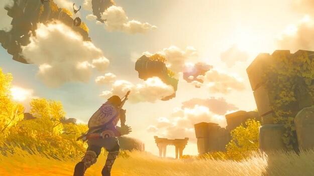 Trailer for Zelda: Breath of the Wild 2