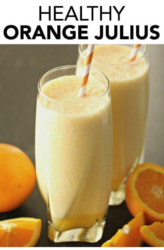 Healthy Meals Monday: Orange Julius With Banana