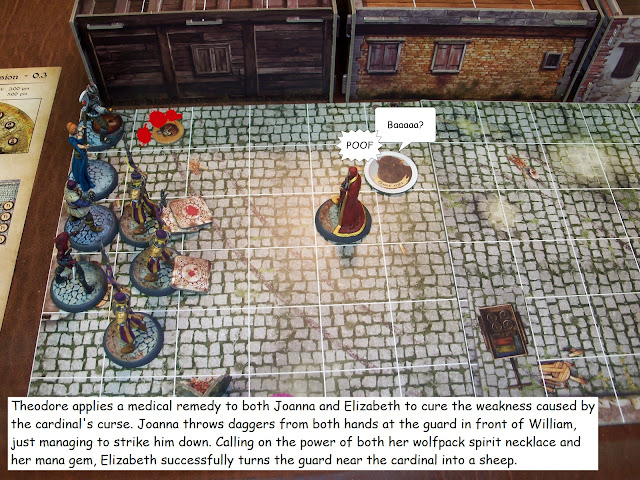 Nova Aetas board game painted play through quest mission 0.3 A Book for a Genius