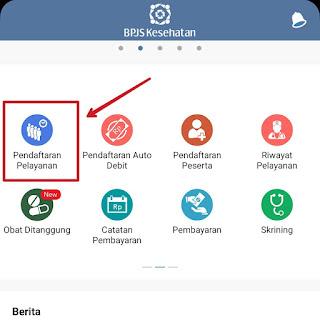 JKN Mobile pendaftaran pelayanan