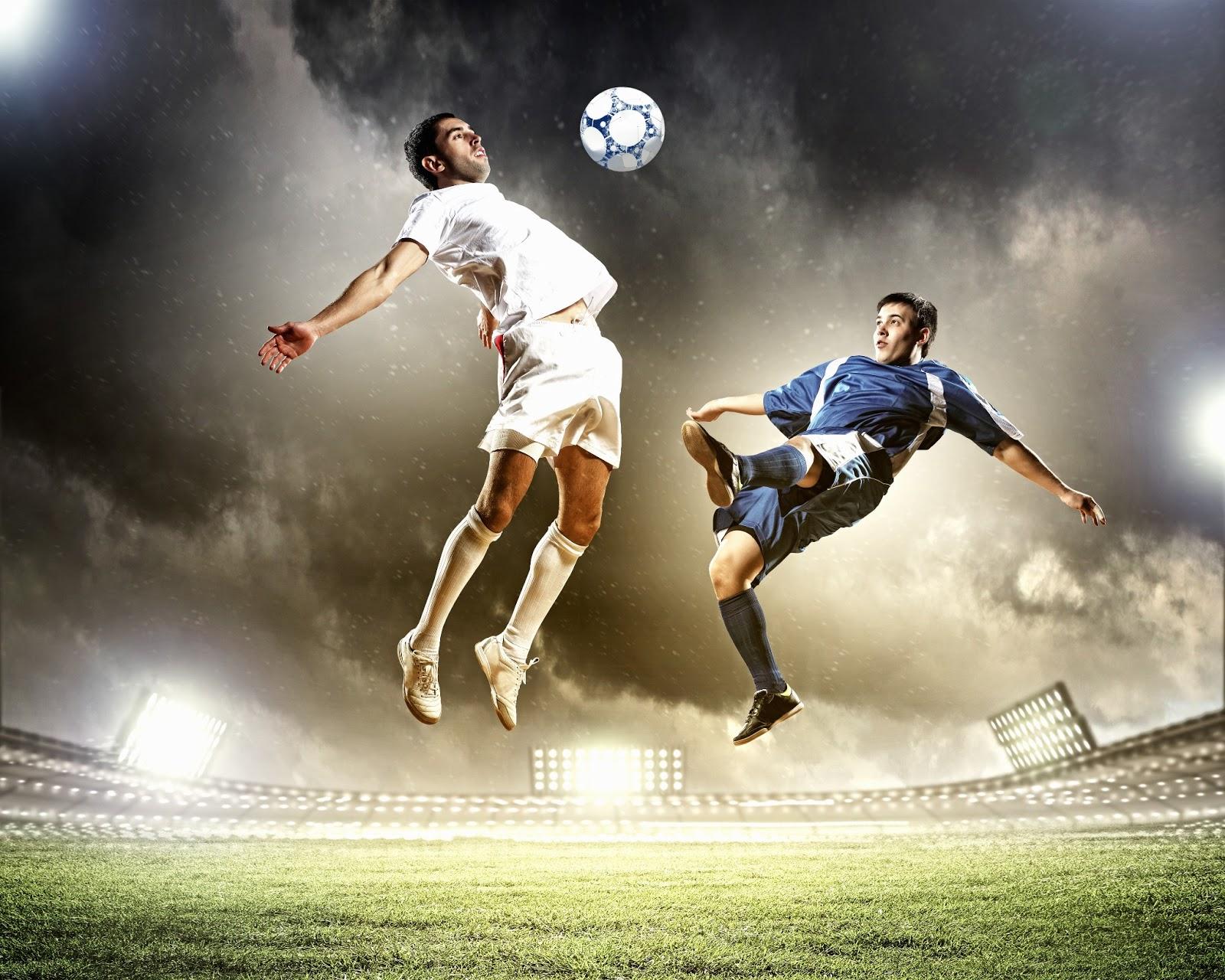 BANCO DE IMÁGENES: Jugadores De Fútbol Soccer