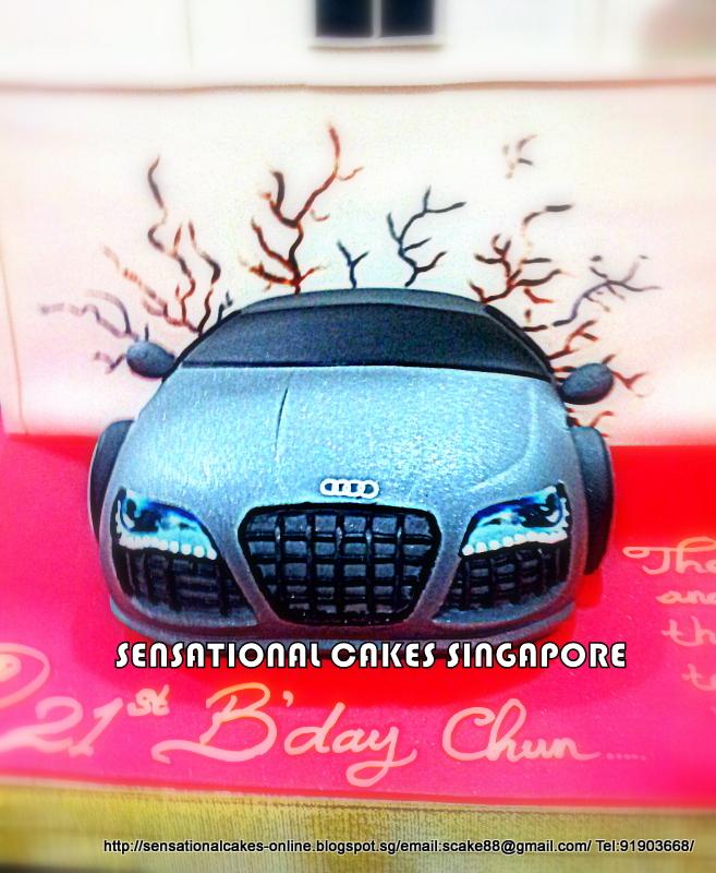 The Sensational Cakes Zouk Club Cake Singapore Audi R8 Sport Car