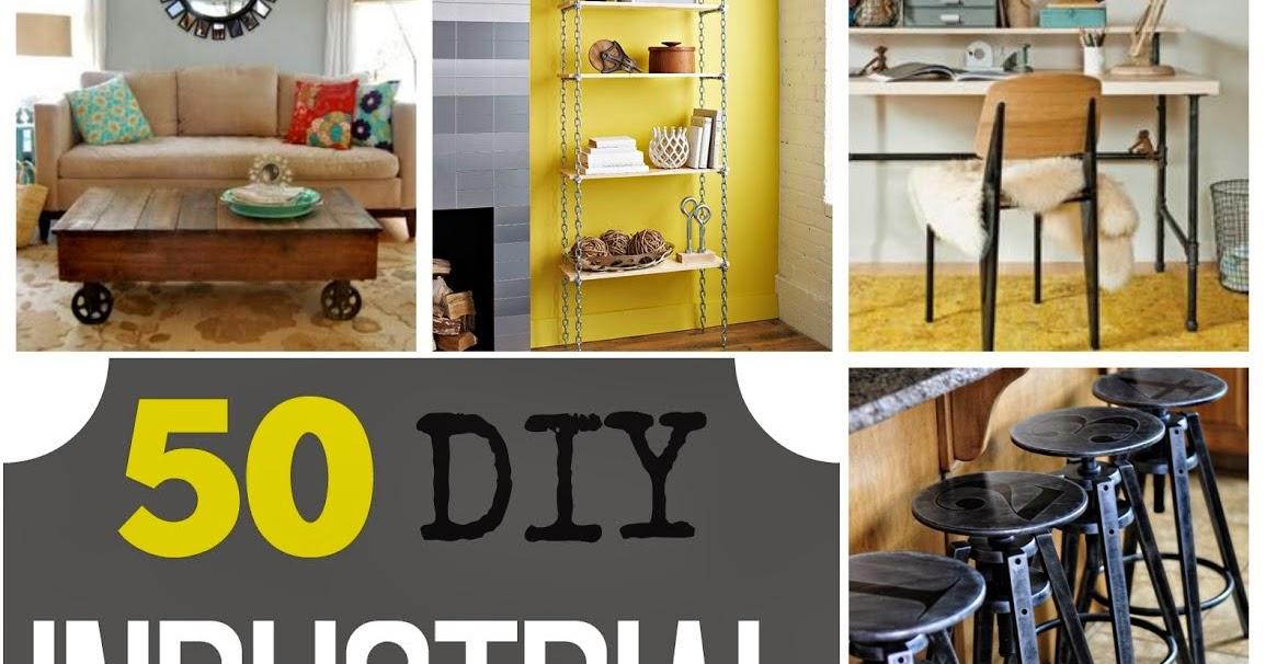 50 DIY Industrial Decor Ideas | Pneumatic Addict
