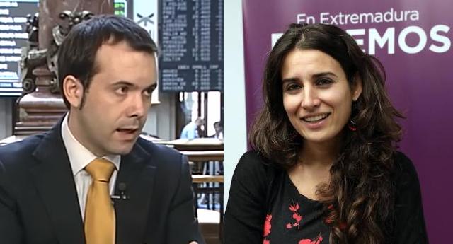 Lección magistral de una diputada de Podemos al economista ...
