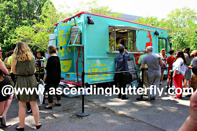 La Casa Azul Taco Truck feeds the hungry Press at the Media Preview Day at The New York Botanical Garden #FridaNYBG