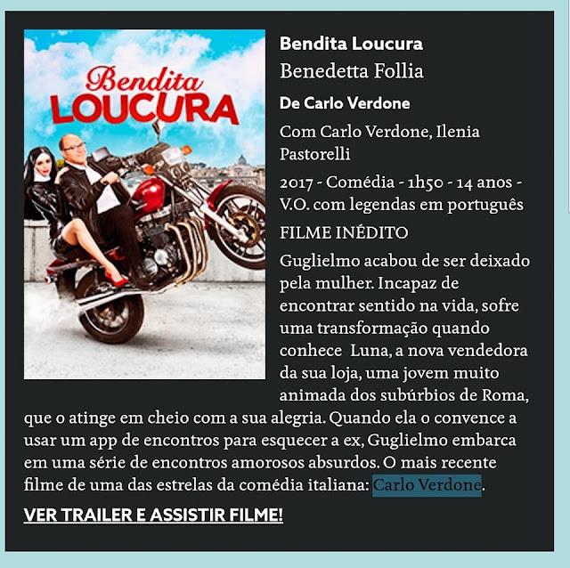 Filme Italiano Bendita Loucura