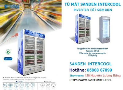 Tủ mát Sanden intercool