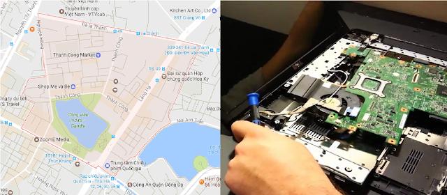 Sửa máy tính tại nhà Thành Công, Ba Đình