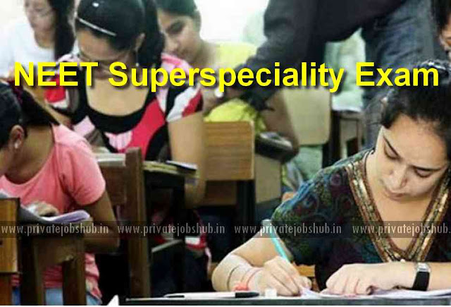 NEET Superspeciality Exam