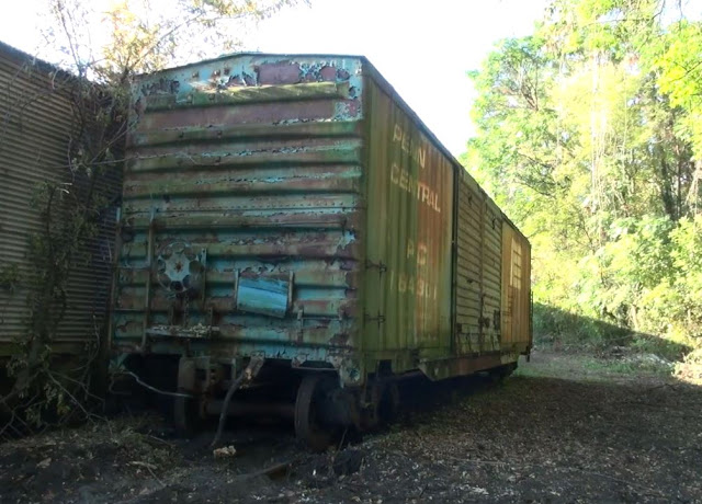 Just A Car Guy This 1956 Penn Central Box Car That Been