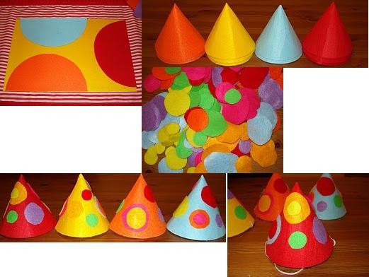 7ce0266f9fd MANUALIDADES!!!  Como hacer sombreros para cumpleaños