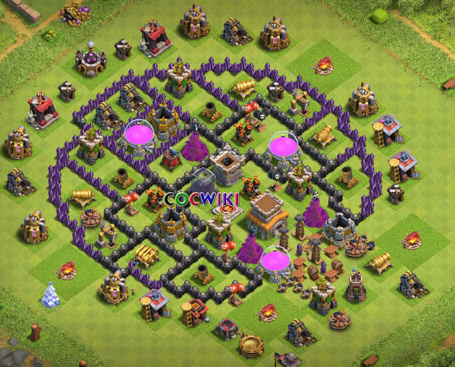 level 8 anti giants layout design